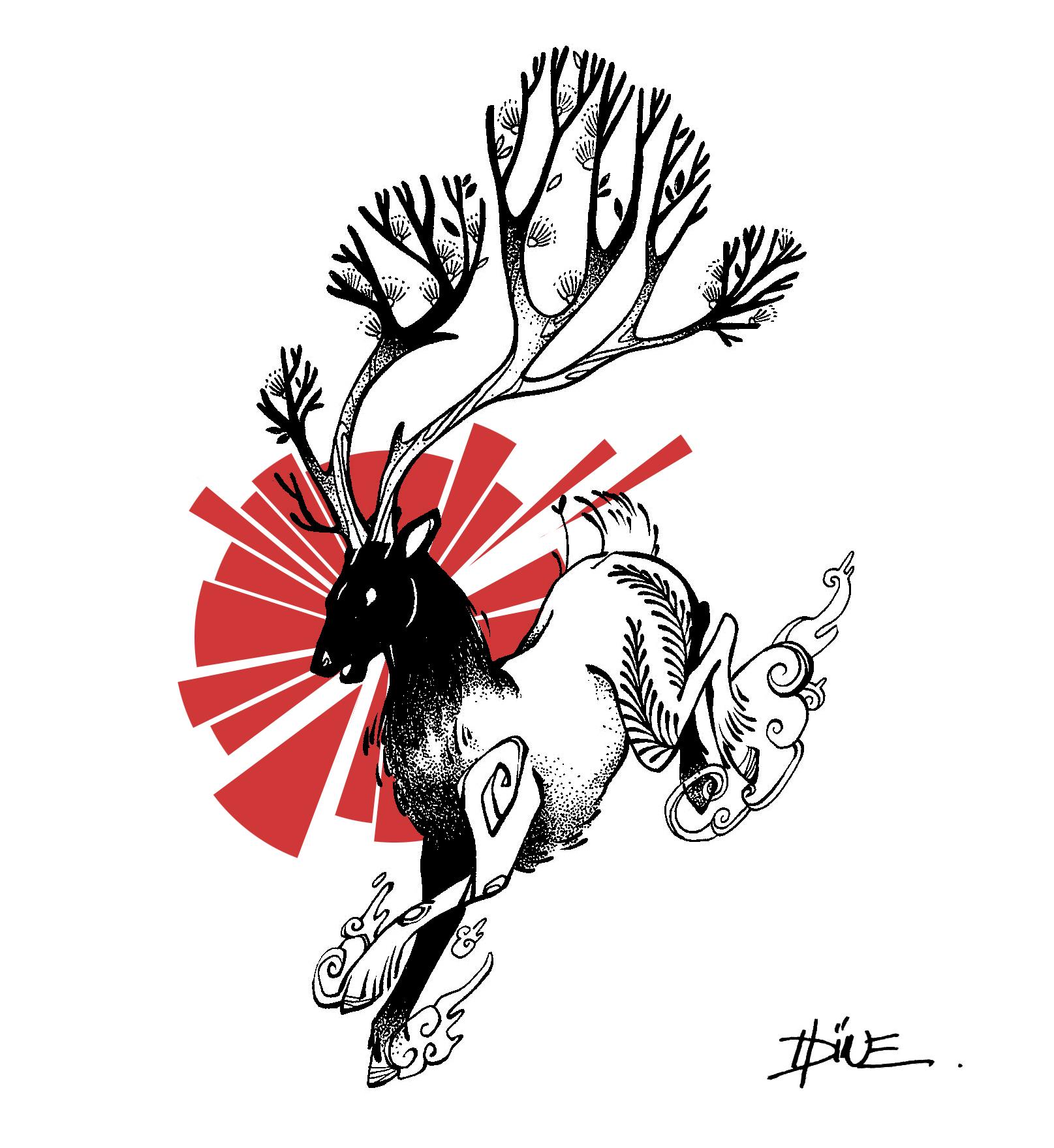 cerf rouge 2